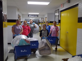 6th Grade recycling team